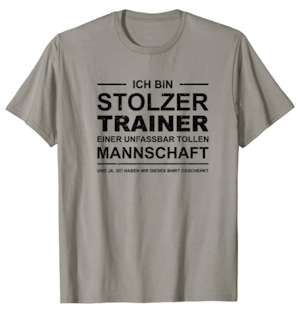 Stolzer Trainer T-Shirt